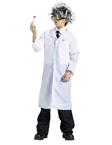 [Partyland Lab Coat, Boys (One Size) Costume] (Mad Scientist Costumes For Kids)