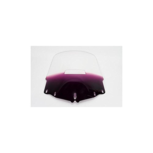 Memphis Shades Gold Wing 1800 Tall Vented Windshield - Gradient Purple (Windshield Tall Vented)