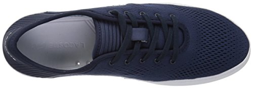 Lacoste Men's L.ydro Lace Sneakers,NVY/White Textile,10.5 M US by Lacoste (Image #8)