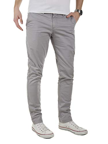 Yazubi Men S Chino Pants Kyle Slim Tapered Casual Pants