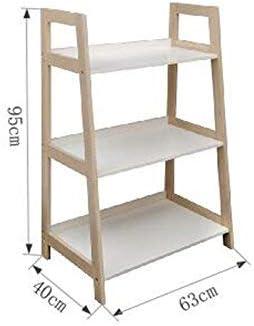 YZjk Estantería 3 Niveles / 4 Niveles / 5 Niveles Estante de Escalera de bambú Estante para Libros Estante de Almacenamiento Multifuncional Soporte de exhibición (Color: 3 Niveles): Amazon.es: Hogar