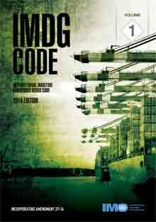 IMO IJ200E International Maritime Dangerous Goods (IMDG) Code, 2014 Edition (inc Amendment 37-14)