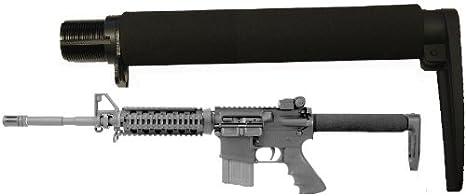 "Review AR-GEAR Carbine (.223/5.56) Full Long Size 9.3"" Fixed Skeleton Stock Aluminum Buttstock, Black"