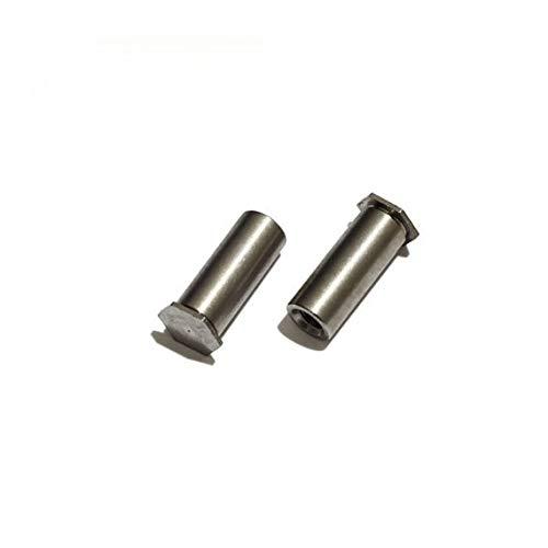 Ochoos 100pcs/lot Stainless PEM Blind Hole self clinching Stud Standoff Riveted Nuts M33/4/5/6/7/8/9/10/11/12/15/16/18/20/22/25/30/35 - (Dimensions: M3x9)