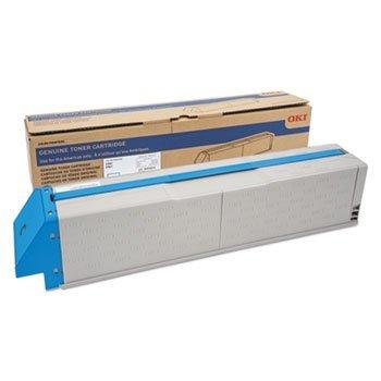 - 45536515 Genuine Okidata Toner Cartridge, 38000 Page-Yield, Cyan