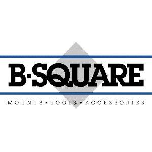 B-Square W-Inchter/USRAC 1200/1300/1400/1500 12 Gauge Shotgun Saddle Style Mount, Matte Black Finish