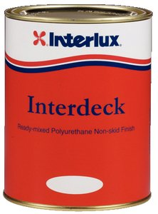 Interlux YJG009/QT Interdeck Slip Resistant Deck Paint (Sand Beige, Quart)