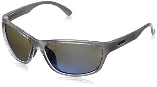 Suncloud Rowan Polarized Sunglasses, Silver Backpaint Frame