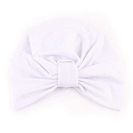 wintefei Baby Toddler Kid Boys Girls Bohemia Tie Knot Soft Cotton Warm Beanie Hat Cap
