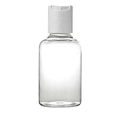 5PC Spray Bottle Transparent Travel Pump Bottle Lotion Dispenser Bottle Plastic Sprayer: Toys & Games