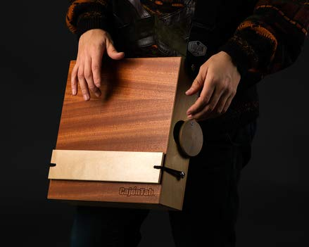 CajonTab Jumbo 12'' - Portable cajon drum with external snare