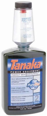 Tanaka Power Equipment 700208 2-Stroke Engine Oil, 16 oz., Pack of 12