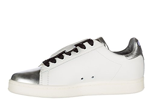 Moa Master of Arts scarpe sneakers donna in pelle nuove bianco