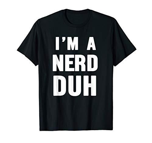 Easy Halloween Nerd Costume Shirt for Men Women Kids