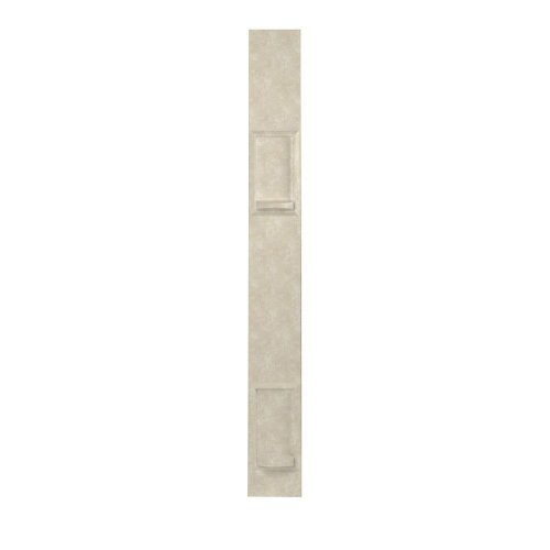 Swanstone SS60000SD.126 Solid Surface 1-panel Shower Soap Dish 0.5-in L X 6.5-in H X 60-in H Cloud Bone