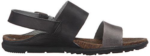 Black Backstrap Merrell Donna Around Nero Town Sandali Nero PPqzYE