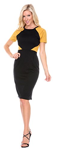 Stanzino®Women's Colorblock Bodycon Casual Dress
