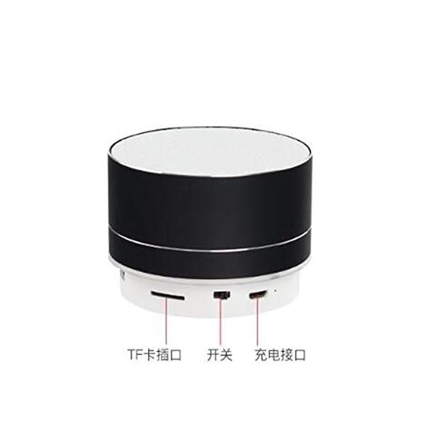 Haut-Parleur Portable Bluetooth étanche Voyage en Plein airHaut-Parleur sans Fil Bluetooth subwoofer de Carte Son d'ordinateur d'ordinateur Rouge 70mmx45mm 4