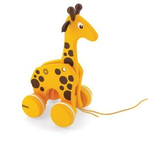 Toy Giraffe Pull Infant - BRIO Pull Along Giraffe
