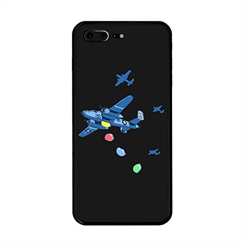 (iPhone 7 Plus/iPhone 8 Plus Case, Water Balloon Bombers TPU Customization for iPhone 7 Plus/iPhone 8 Plus 5.5 inch Protective Shell)