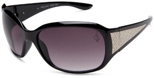 baby phat Women's 2051 Round Sunglasses,Black Frame/Black Lens,one - Phat Sunglasses