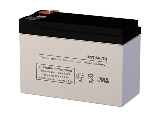 12 Volt 7 Ah  SLA Rechargeable Battery for Powercell Zeus PC7-12F1 ()