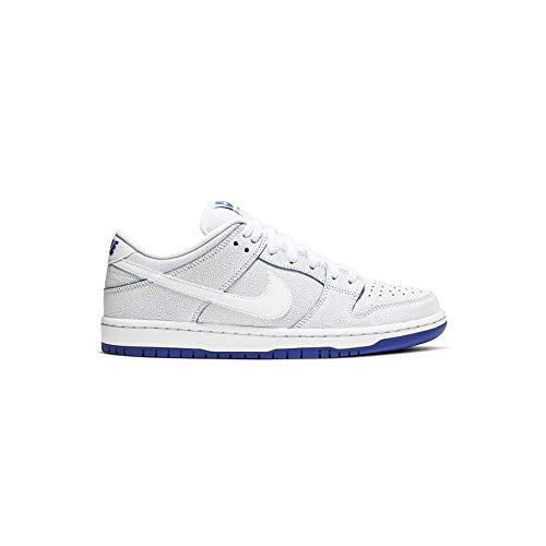 Dunk Low Premium (White/White-Game Royal 11)
