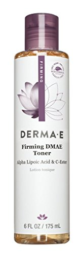 DERMA E Firming Toner With DMAE Alpha and Lipoic C-Ester 6oz