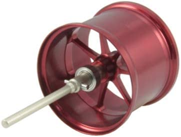 Avail(アベイル) リール Microcast Spool 17CNQ15R(溝深さ1.5mm) ms_17cnq15r_赤 レッド