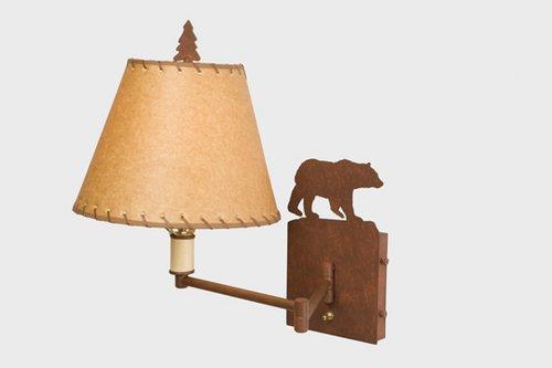 Single Swing Arm Floor Lamp (Bear Single Swing Arm Sconce)