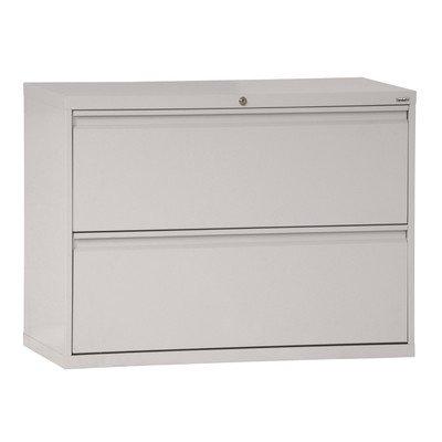 Sandusky Lee LF8F422-05 800 Series 2 Drawer Lateral File Cabinet, 19.25