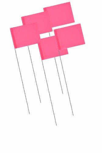 Bon 84-845 Marking Flags, 1000-Pack, Fluorescent Pink
