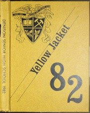 (Reprint) Yearbook: 1982 Denison High School Yellow Jacket Yearbook Denison TX (Denison Jacket)