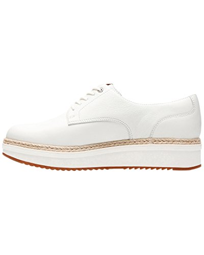White CLARKS Oxford Leather Rhea Women's Teadale wqnTq4HI