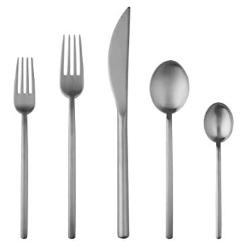 Mepra 20-Piece Due Ice Flatware Set