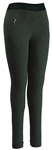 TuffRider Women's Cotton Schoolers, Hunter, 28 Tuffrider Tights
