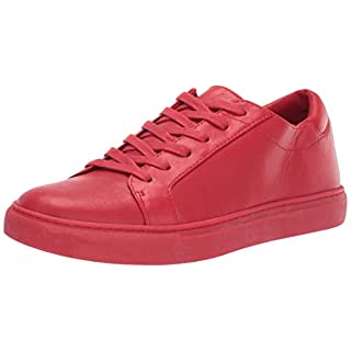 Kenneth Cole New York Women's Kam Fashion Sneaker, red Leather, 7.5 M US
