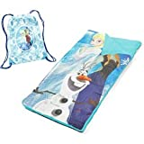 Disney Frozen Elsa Anna and Olaf Sleeping Bag and Sling Set