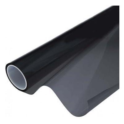 VViViD Air-Tint Smoke Black Gloss Vinyl Headlight Foglight Transparent Tint Wrap Self-Adhesive (16 Inch x 48 Inch, 2-roll Pack): Automotive