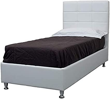 Letto Contenitore Singolo Ecopelle.Je9ngqx27ayilm