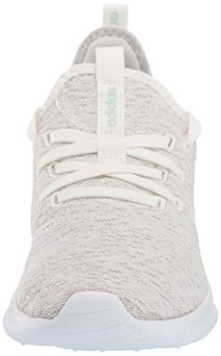 adidas Women's Cloudfoam Pure Running Shoe, Cloud White/Ice Mint, 5 Medium US by adidas (Image #4)