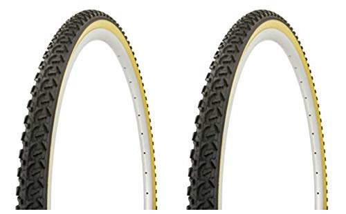 Lowrider Tire Set. 2 Tires. Two Tires Duro 700 x 38c Black/Gum Side Wall HF-822. Bicycle Tires, Bike Tires, Track Bike Tires, Fixie Bike Tires, Fixed Gear Tires