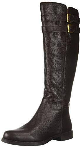 Franco Sarto Women's Christoff Equestrian Boot , Hickory, 9    W(Reg Calf)
