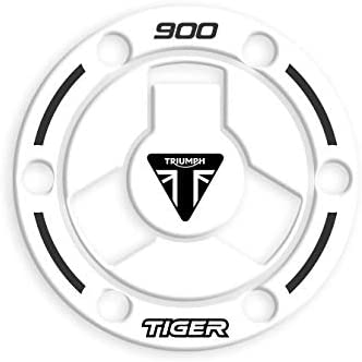 FUEL CAP PROTECTION RESIN 3D TRIUMPH Tiger 900 WHITE GT//GT PRO//RALLY//RALLY PRO 2020 GP-681