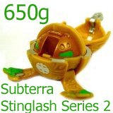 (Bakugan Battle Brawlers Game Single LOOSE Figure Sub Terra Stinglash (Brown) 650 G )