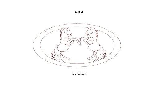 gate-builders-dakota-steel-entry-gate-with-4ft-sparring-horses-medallion