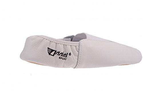 ANNIEL Cuir Taille G Chaussures Turn 45 Blanc 24 en BBwOqxvZ