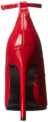 Devious Pleaser SEXY Knöchelriemchen Red 23 Pumps Pat Damen rrwCq1
