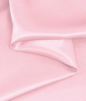 Pink Crepe Back Satin - 4