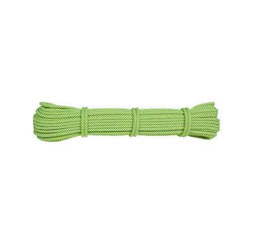 HEI LEYOU Professional Climbing Rope Safety 20M Paracord Rock Climbing Hiking Accessories Cord 6Mm Fluorescent Green ()